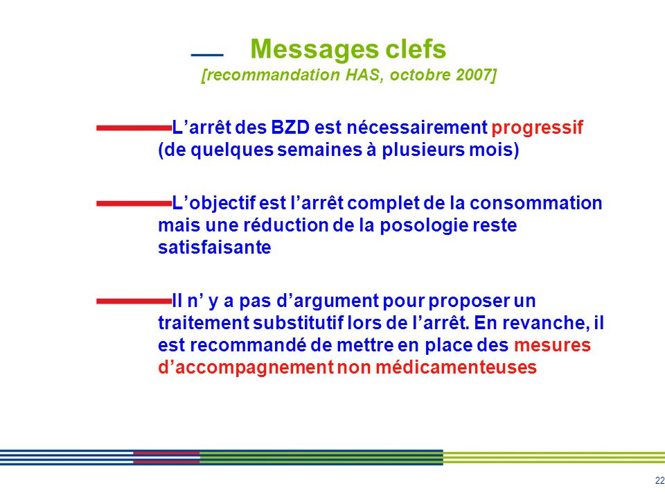 Messages clefs [recommandation HAS, octobre 2007]